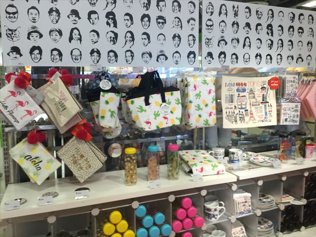 ヘップファイブ「3COINS de ASOKO」バッグ、水筒、マグカップなど