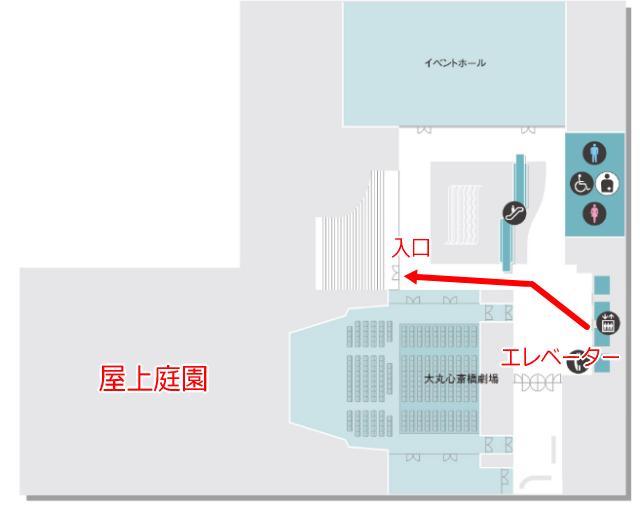 「大丸心斎橋店」北館14階フロアーマップ