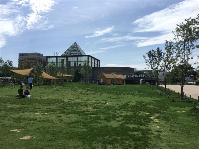 「てんしば」と天王寺動物園入口