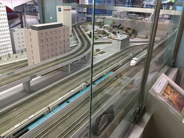 「カワサキワールド」電車ジオラマ