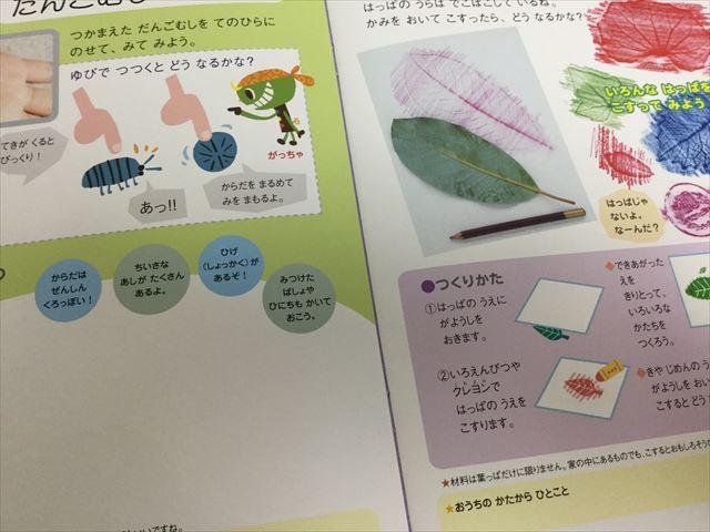 幼児ポピー「夏ドリるん」の教材「おでかけしてみつけよう、はっけんたい」の1ページ