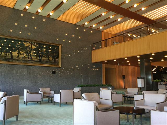 「ホテルオークラ神戸」ロビー