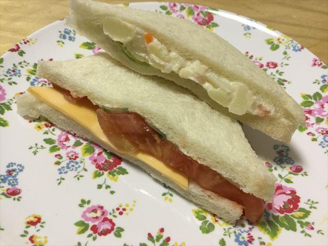 パン屋「gout(グウ)」森ノ宮店、サンドイッチ