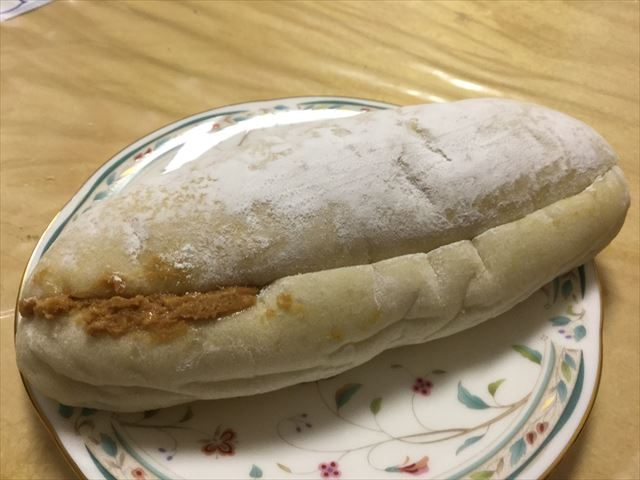 パン屋「gout(グウ)」森ノ宮店、ピーナッツバターサンド