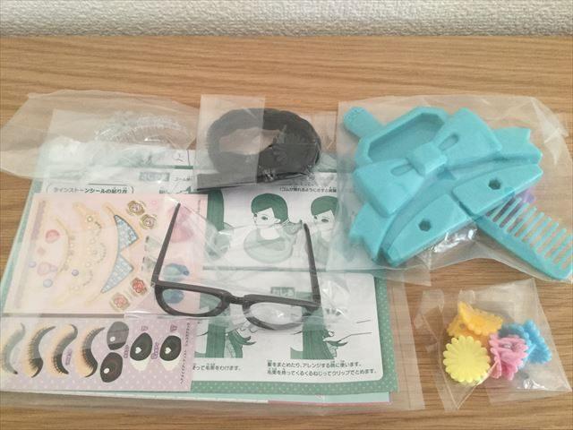 「ヘアメイクアーティスト・ショコラブラック」付属品