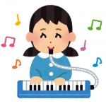 鍵盤ハーモニカの発表会