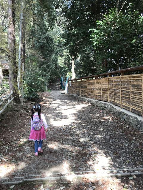 宝積寺からの天王山登山ルート