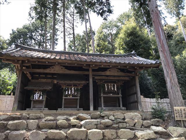 天王山登山「三社宮」