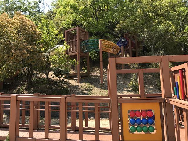 錦織公園「やんちゃの里」の「やんちゃの砦」