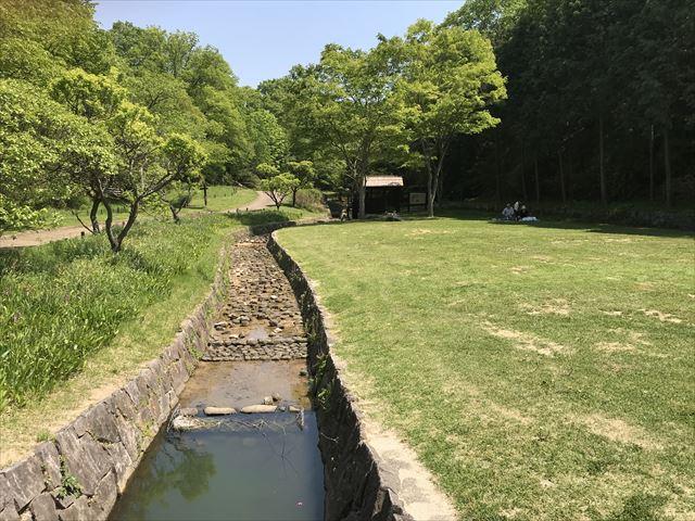 錦織公園の水車