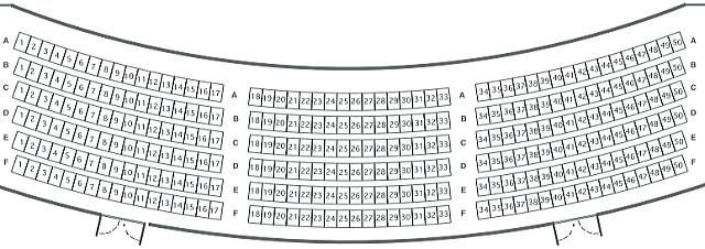 「オーバードホール」3階座表