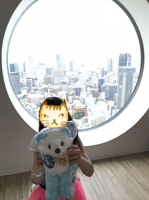 梅田スカイビル「空中庭園」お土産グッズ売り場で買ったぬいぐるみ