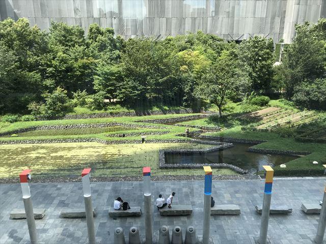 新梅田シティーの「花野・里山」