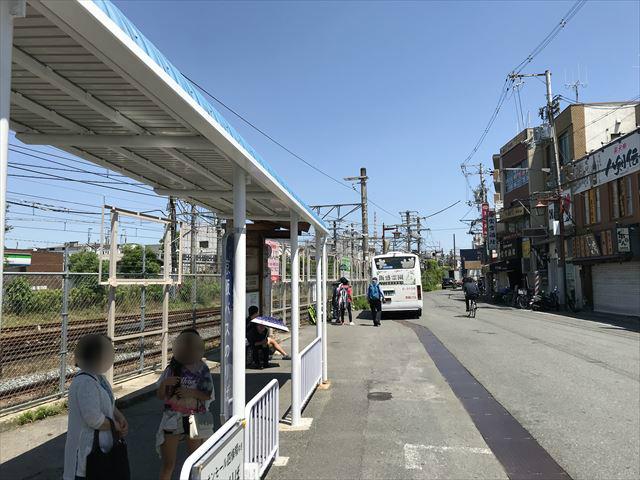 JR学研都市線「四条畷駅」バス乗り場