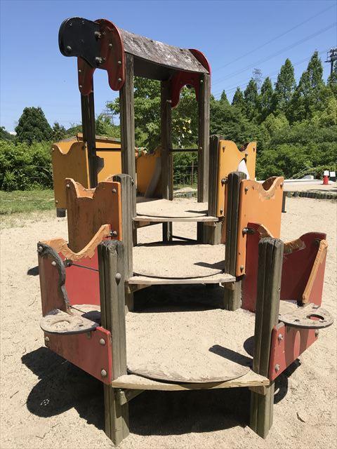むろいけ園地、幼児向け遊具