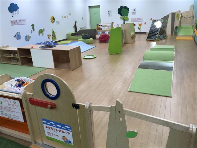 「アネビートリムパーク神戸」赤ちゃんの部屋(0歳〜2歳向け遊具)