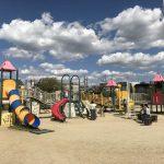 鳳公園の複合遊具