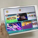 iPadで「YouTube Kidsアプリ」を表示した