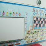 子供英会話教室のホワイトボード