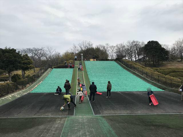 竹取公園「ちびっ子ゲレンデ」2箇所