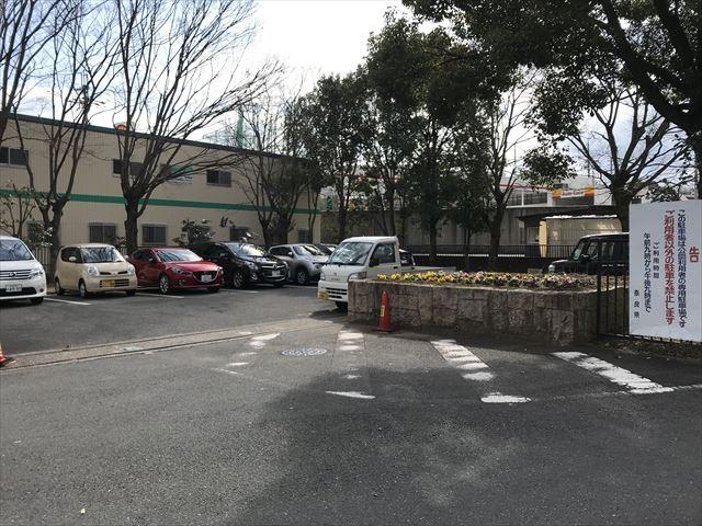 「大渕池公園・東地区」駐車場2(公園前)