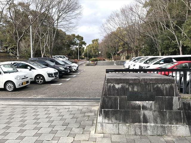 「大渕池公園・東地区」駐車場1(公園内)
