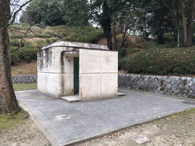 大渕池公園西地区のトイレ