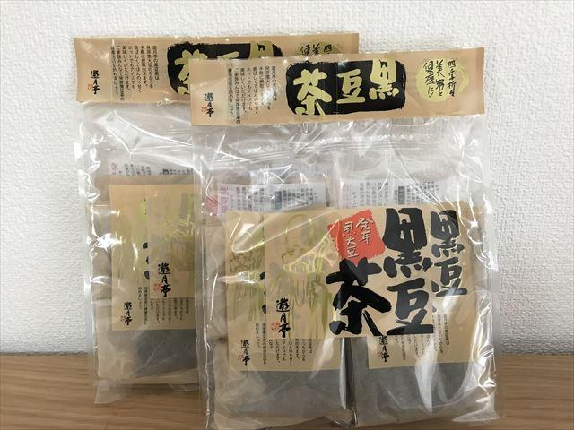 淡路島で買った黒豆茶(遊月亭)