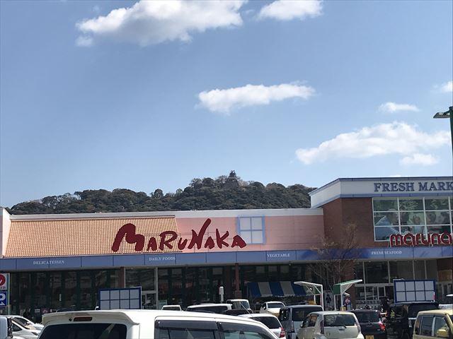 スーパーマルナカと洲本城