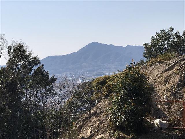 洲本城(三熊山)登山時に見える景色
