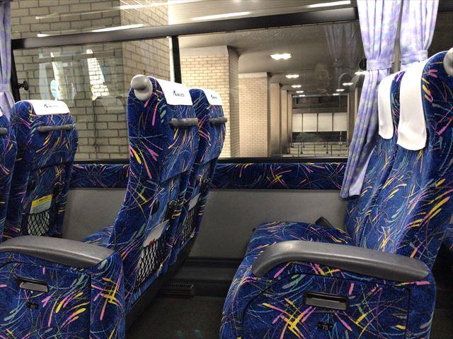 神姫バス(高速バス)座席