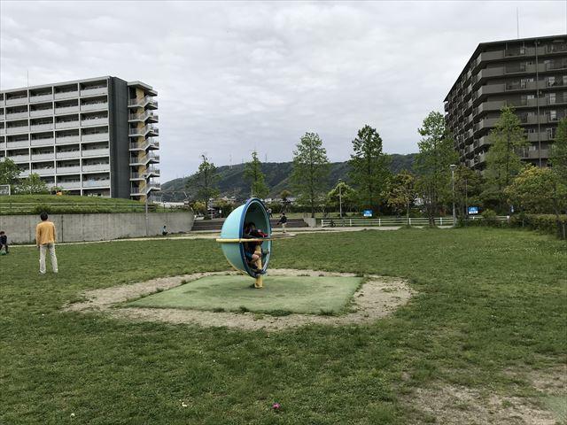 水無瀬川緑地公園「ちびっこ広場」