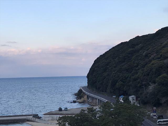 「夢海游 淡路島」ステラテラスから見た淡路島