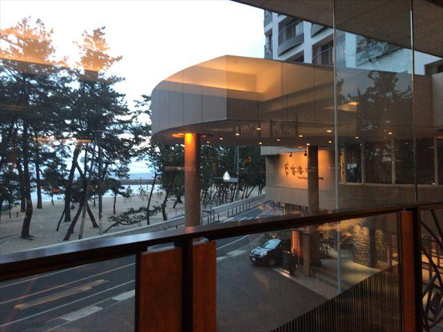 「夢海游 淡路島」四季彩ダイニング「浜房」からの眺め