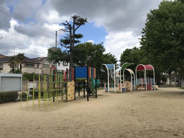 神戸「住吉公園」複合遊具