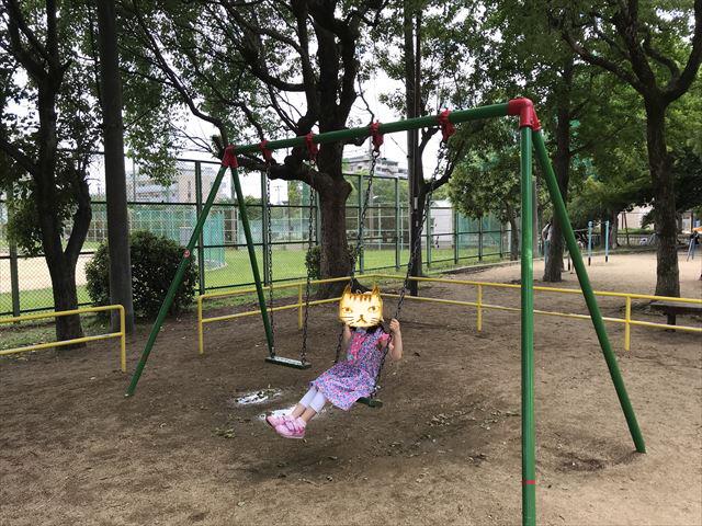 神戸「住吉公園」ブランコ