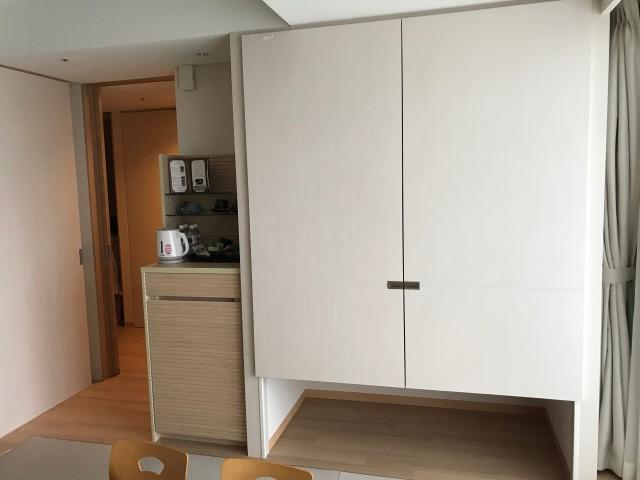 「神戸みなと温泉 蓮」シーサイドデラックス、和室家具