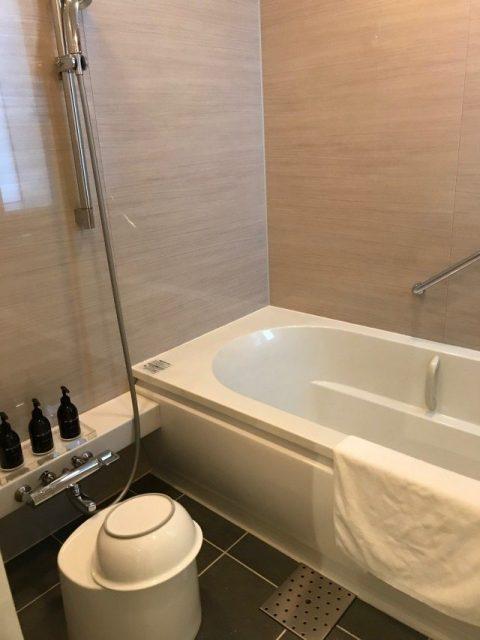 「神戸みなと温泉 蓮」シーサイドデラックス バスルーム