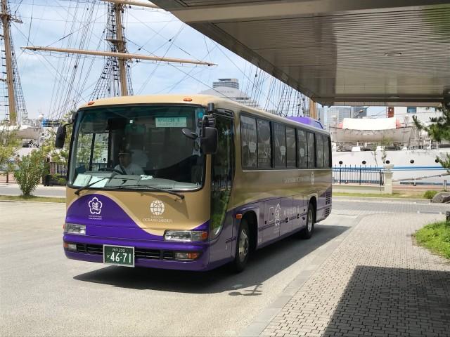 「神戸みなと温泉 蓮」無料シャトルバス