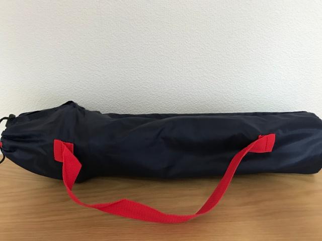 Coleman(コールマン)コンパクトクッションチェアを収納袋の肩掛け紐