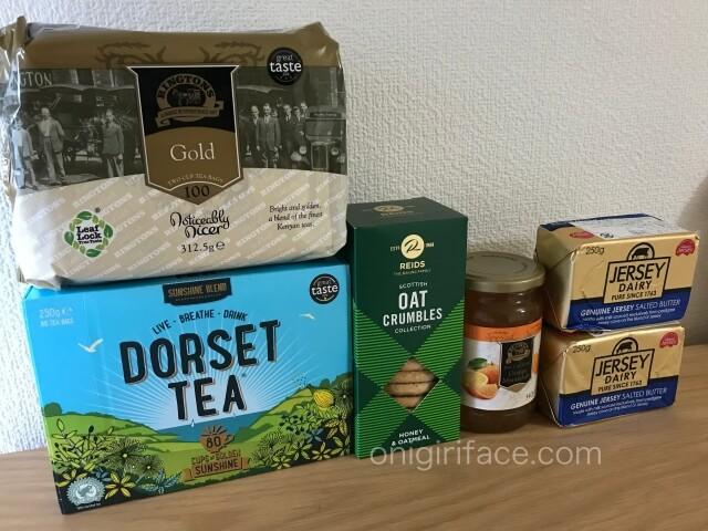 阪急うめだ本店「英国フェア2020」で購入した紅茶、ジャム、バター、オーツビスケット