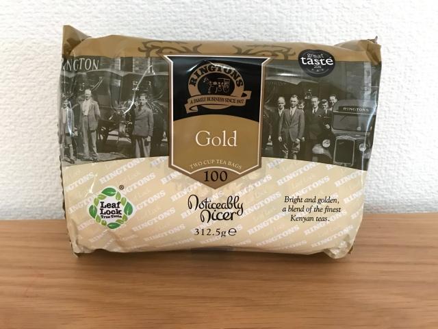 「英国フェア2019」で買ったRingtonsの紅茶「Gold 」