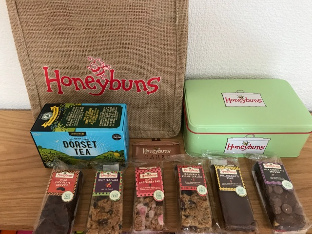 「英国フェア2019」ハニーバーンズ(Honeybuns)缶セット