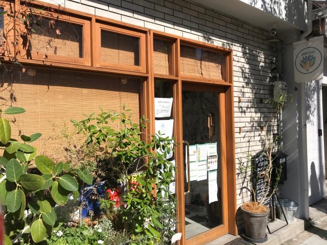 「カフェイコイ(CAFE icoi)」入口