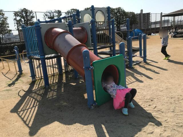 「川俣スカイランド」幼児広場の遊具