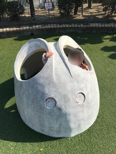 「川俣スカイランド」幼児広場・ウサギの遊具