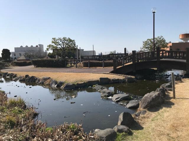 「川俣スカイランド」水辺の広場