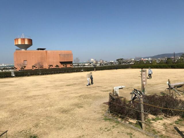 「川俣スカイランド」芝生広場