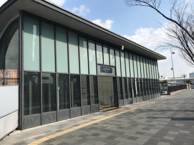 京阪中之島線「なにわ橋駅」3号出口