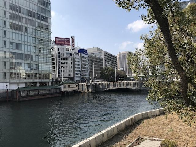 京阪本線「淀屋橋駅」と中之島